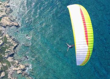 paragliding holidays crete