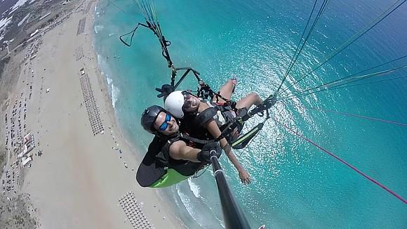 paragliding falassarna
