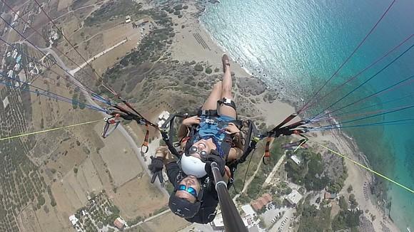 paragliding falasarna