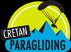 Cretan paragliding new logo